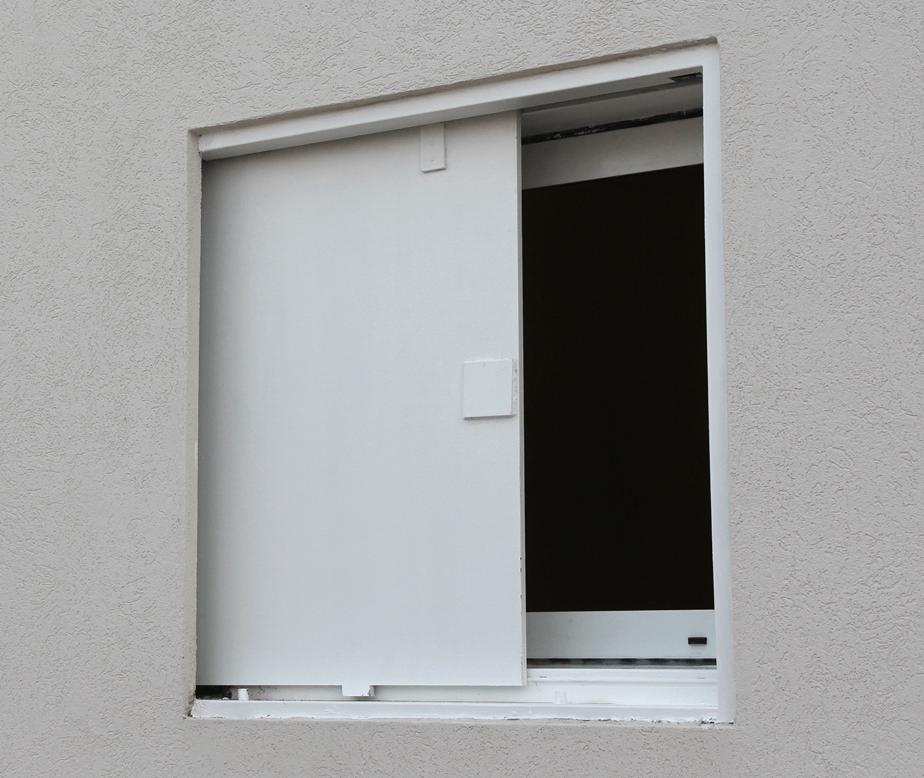 מרחב מוגן דירתי - חלון הדף